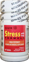 Major Stress Formula W/Iron Tablets - 60 each