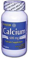 Major Calcium Carbonate 600mg Tablets - 150 each