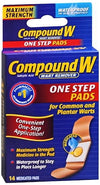 Compound W One Step Pads 14 ct