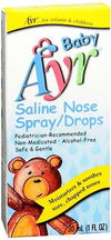 Ayr Baby Saline Nose Spray/Drops - 30 ml
