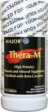 Major Thera-M Multivitamin Multimineral Supplement - 130 ea