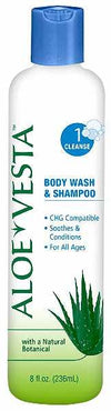 Aloe Vesta Body Wash & Shampoo (by Convatec 324604) - 4 oz