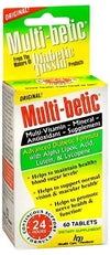 Multi-Betic Vitamins - 60 tablets
