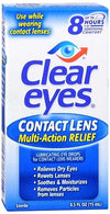 Clear Eyes Contact Lens Relief Soothing Drops 0.5 oz