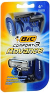 Bic Comfort3 Advance Shavers - 4 ea