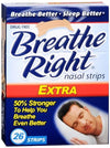 Breathe Right Nasal Strips Extra - 26 ct