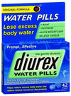 Diurex Water Pills - 42 each