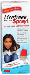 LiceFreee! Lice Killing Hair Spray 6 oz