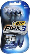 Bic Flex3 Sensitive Skin Shavers for Men - 4 CT