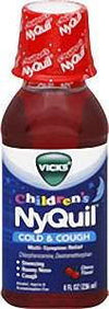 Vicks Children's NyQuil Cold & Cough Liquid Cherry Flavor - 8.0 oz