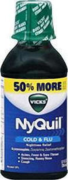 Vicks NyQuil Cold & Flu Liquid - 12.0 oz