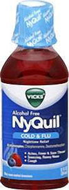 Vicks NyQuil Cold & Flu Nighttime Relief Liquid - 12.0 oz
