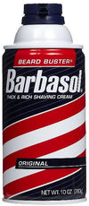 Barbasol Beard Buster Shaving Cream Original Foam - 10 oz