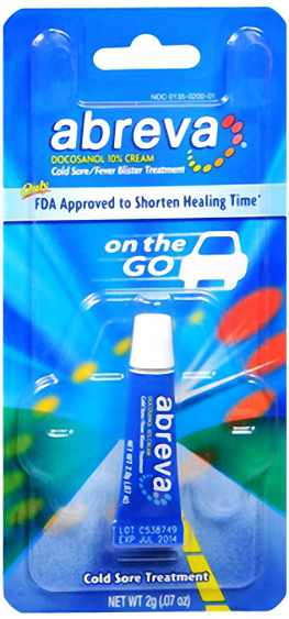 Abreva Cold Sore/Fever Blister Treatment 2 g
