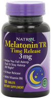 Natrol Melatonin 3 mg Tablets - 100 ea
