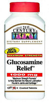 21st Century  Glucosamine Relief 1000mg - 120 Coated Tablets