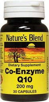 Nature's Blend Coenzyme Q10 200mg - 30 caps