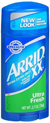 Arrid XX Antiperspirant Deodorant Solid Ultra Fresh 2.7 oz