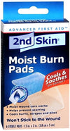 2nd Skin Moist Burn Pads 1.5 Inches X 2 Inches 6 Each