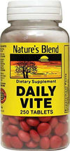 Nature's Blend Daily Vite - 250 Tablet