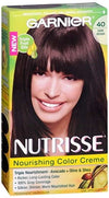Nutrisse Haircolor - 40 Dark Brown 40 (Dark Chocolate) - 1 ea