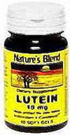 Nature's Blend Lutein 15Mg Dietary Supplement Softgels 60
