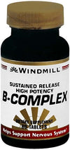 Windmill B-Complex SUSTAINED RELEASED - 60 tabs