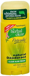 Herbal Clear Aloe Fresh Aluminum-Free Deodorant by 21st Century 2.65oz