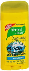Herbal Clear Sport Aluminum-Free Deodorant by 21st Century - 2.65oz