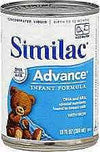 Similac Advance Concentrate With Iron - 12 x 13 oz