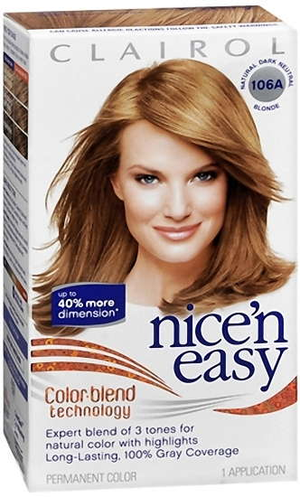 Nice N Easy Permanent Color 106a Natural Dark Neutral Blonde