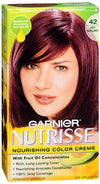 Nutrisse Haircolor - 42 Black Cherry (Deep Burgundy) 1 ea