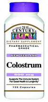 21st Century  Colostrum 500 mg - New Zealand - 120 Capsules