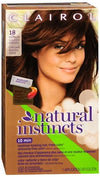 Natural Instincts Non-Permnent Hair Color -18 Pecan (Md. Golden Brown)