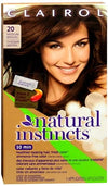 Natural Instincts Non-Permanent Hair Color-20 Hazelnut (Md. Brown)