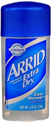 Arrid Extra Dry Clear Gel Stick Cool Shower - 2.8oz