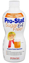 Pro-Stat  64 Sugar Free Wild Cherry Punch - 6 x 30oz