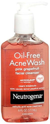 Neutrogena Oil-Free Acne Wash Facial Cleanser - Pink Grapefruit - 6 oz