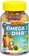 L'il Critters Omega-3 Gummy Fish with DHA - 60 ea