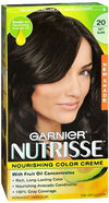 Nutrisse Haircolor - 20 Black Tea (Soft Black) 1 Each