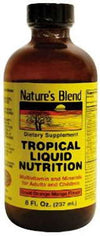 Nature's Blend Tropical Liquid Nutrition Orange Mango Flavr 8oz