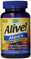 Nature's Way Alive Mens Multivitamin chewable 60 ct