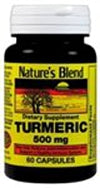 Nature's Blend Turmeric 500 mg 60 caps From Nature's Blend