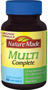 Nature Made Multi Complete Dietary Softgels Original Formula - 60 ct