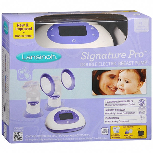 Lansinoh Signature Pro Double Electric Pump 1 Ea Familyotc