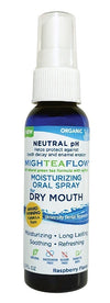 Mighteaflow Organic Neutral pH Green Tea Oral Spray with Xylitol - 2oz