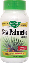 Nature's Way Saw Palmetto Berries -- 100 Capsules