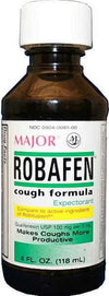 Robafen Cough Formula Syrup Cherry - 4oz by Major