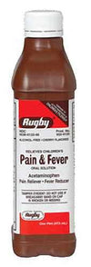 Acetaminophen 160mg/5ml Elixir - 16 oz by Rugby