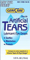 Geri Care Artificial Lubricating Tears Dry Red Eye Relief Drp 0.5 oz
